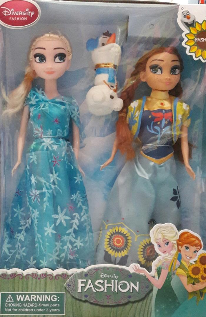 Jual Frozen Elsa Anna Olaf Boneka Mainan Anak murah Kado Hadiah - SR ... 5cba78bb25