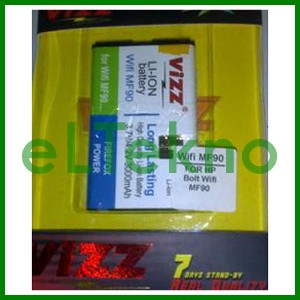 harga Baterai vizz bolt wifi mf90 batre double power dobel battery batere Tokopedia.com