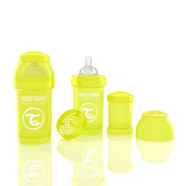 harga Twistshake anti-colic 180ml - yellow Tokopedia.com
