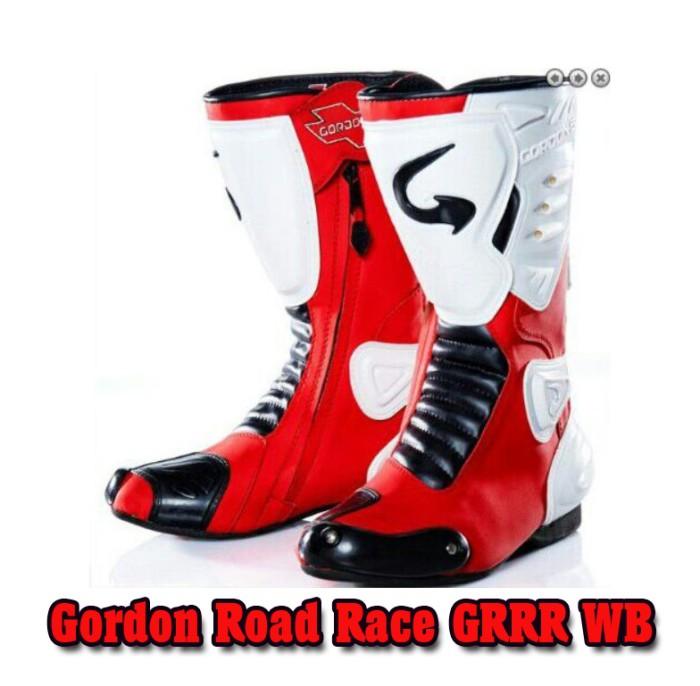 harga Sepatu balap roadrace gordon (not speed sidi alpinestar scoyco komine) Tokopedia.com