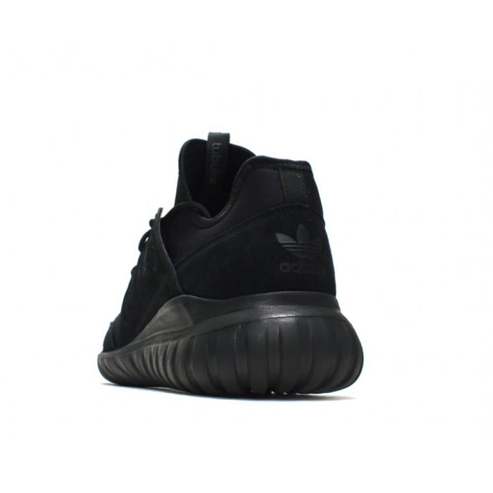Sepatu Casual Adidas Tubular Radial Triple Black Original S80115