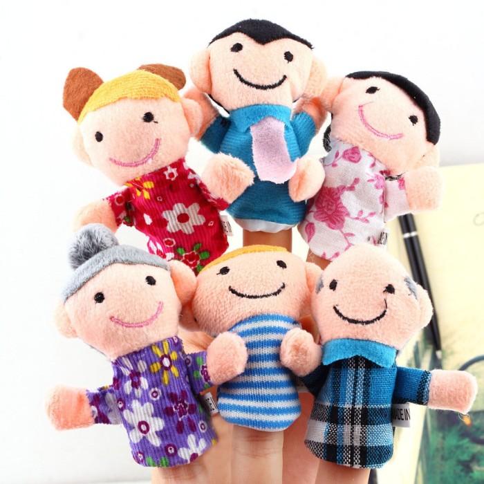 Jual Boneka Jari Seri Keluarga   Finger Puppet Seri Family di ... 2a2d2f63b0