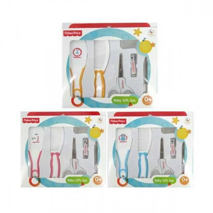 harga Fisher price baby gift set 6 in 1 - manicure sisir sikat jari Tokopedia.com