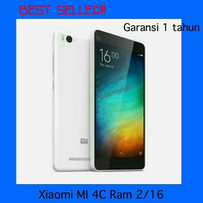 harga Terlaris!! Hp Xiaomi Mi 4c Ram 2/16/handphone Android Smartphone Tokopedia.com