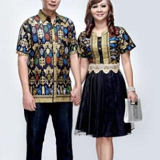 harga Batik couple dress/seragam/tile/sarimbit/gaun/brokat Tokopedia.com