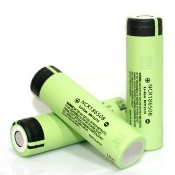 harga Baterai 18650 panasonic ncr li-ion battery 3400mah 3.7v 30a - flattop Tokopedia.com