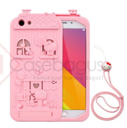 Harga Oppo F1s Fabitoo Hello Kitty Soft Cover Casing Case Lucu Unik Imut Tokopedia