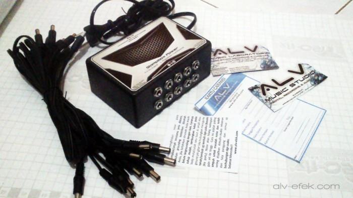 harga Alv stompbox power dc-10 low noise 2000ma adaptor multi untuk efek Tokopedia.com