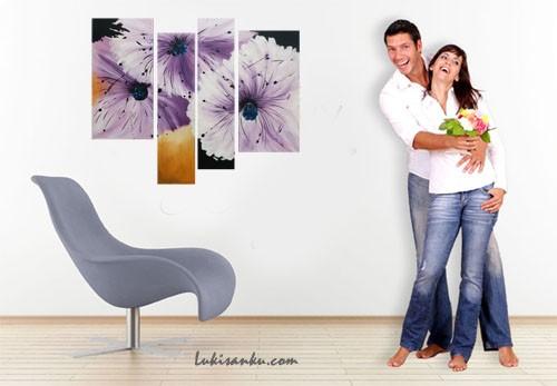 harga Lukisan bunga | kode: kg41-tp | lukisanku Tokopedia.com
