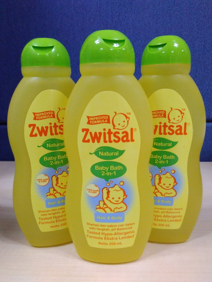 Zwitsal Baby Bath 2-in-1 200ml
