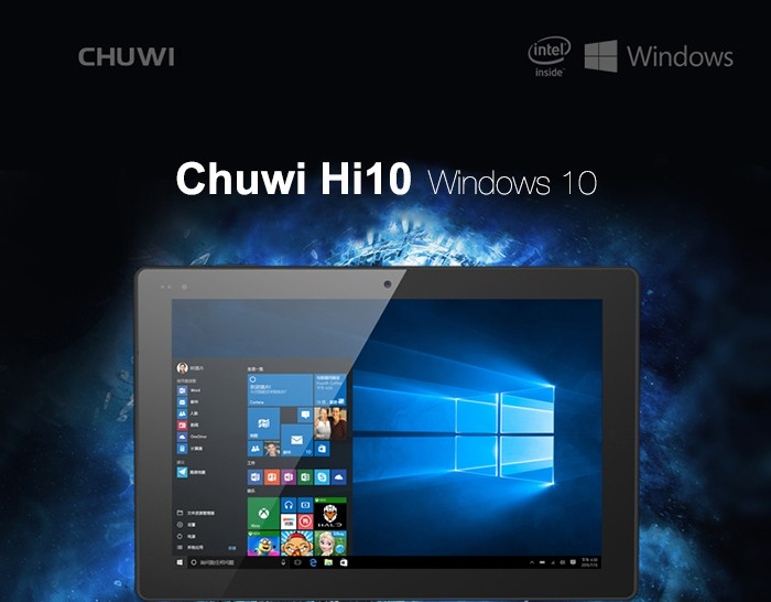 harga Chuwi hi10 ultrabook tablet pc windows 10 4gb 64gb 10.1 inch Tokopedia.com