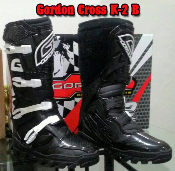 harga Boots sepatu trail / cross gordon k2 (not fox alpinestar o'neal) Tokopedia.com