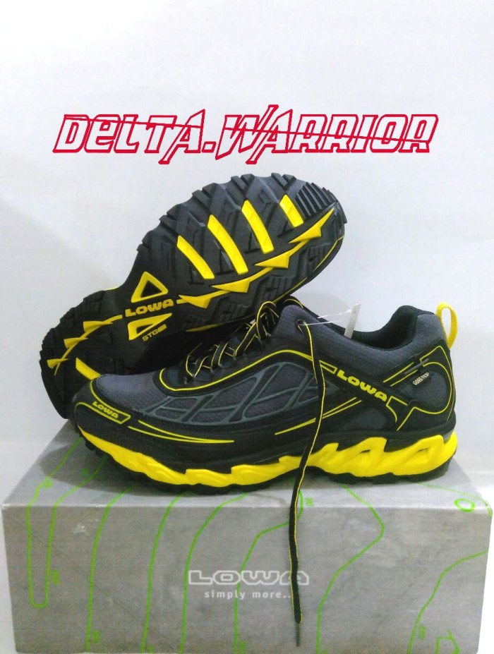 harga Sepatu Lowa S-crown Gtx Trail - Running Shoes Tokopedia.com