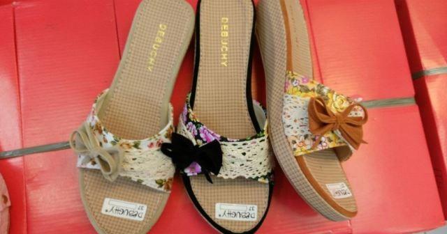 harga Sepatu wanita wedges nfz13 Tokopedia.com