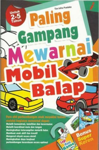 Jual Paling Gampang Mewarnai Mobil Balap Toko Buku Sederhana
