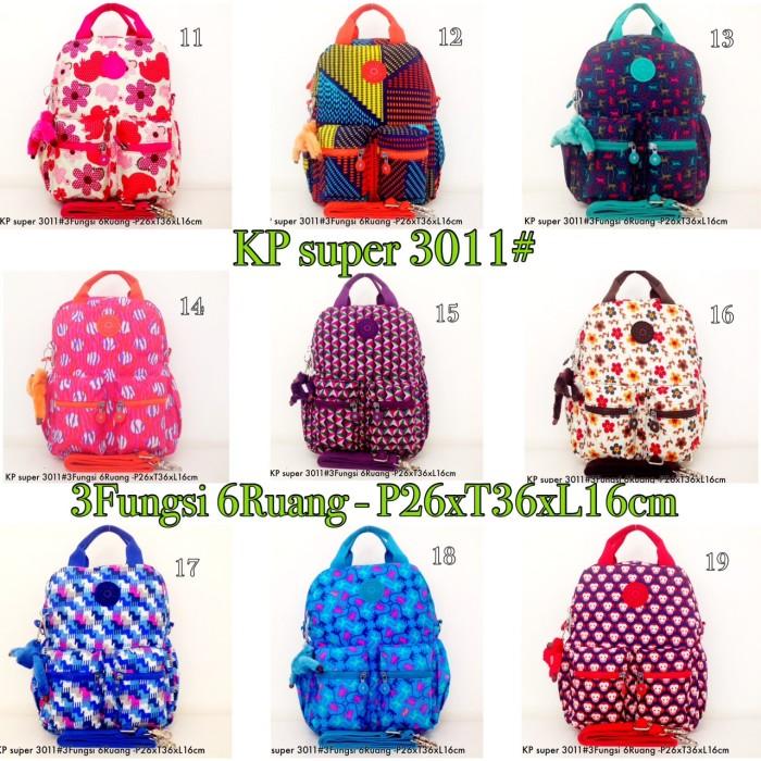 Jual Tas Ransel Kipling Backpack Handbag Selempang 3in1 6 R 3011 ... a8bac4d573