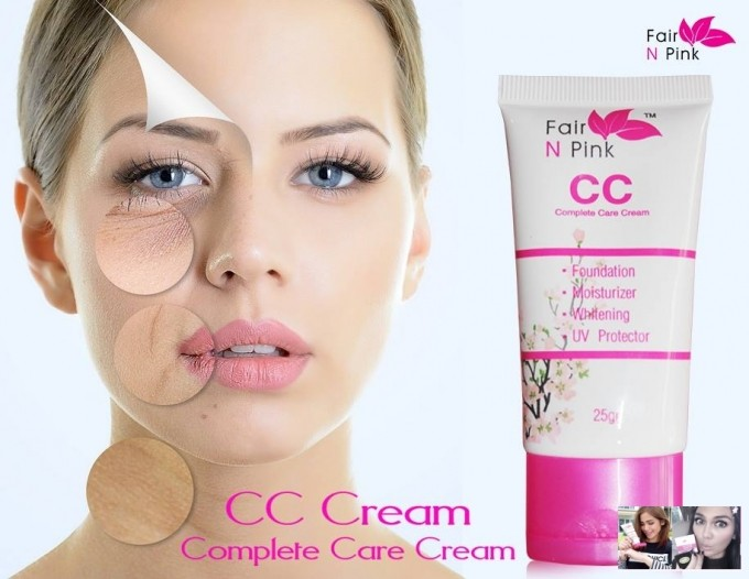 Foto Produk CC Cream Fair N Pink 4in1 Original BPOM dari Toko Hemat Jakarta