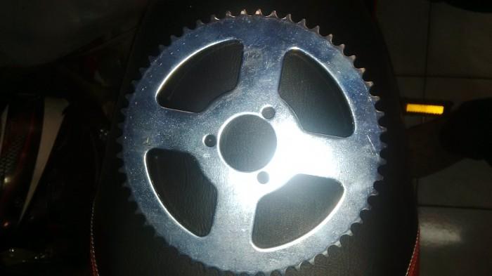 harga Gear belakang mini atv mini trail 50cc 56 mata rantai tanggung Tokopedia.com