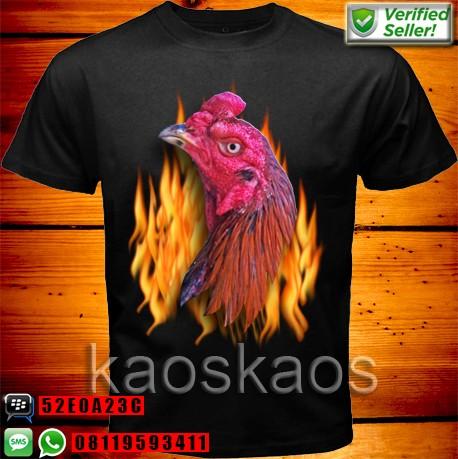 harga Kaos ayam bangkok on fire Tokopedia.com
