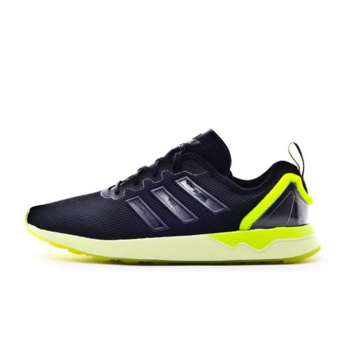 11a76e526f8a ... coupon for sepatu casual adidas zx flux adv black volt original aq4906  8677f 918c8
