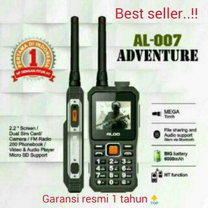 harga Hp aldo al 007 / handphone outdoor ht handy talky bisa buat pb Tokopedia.com