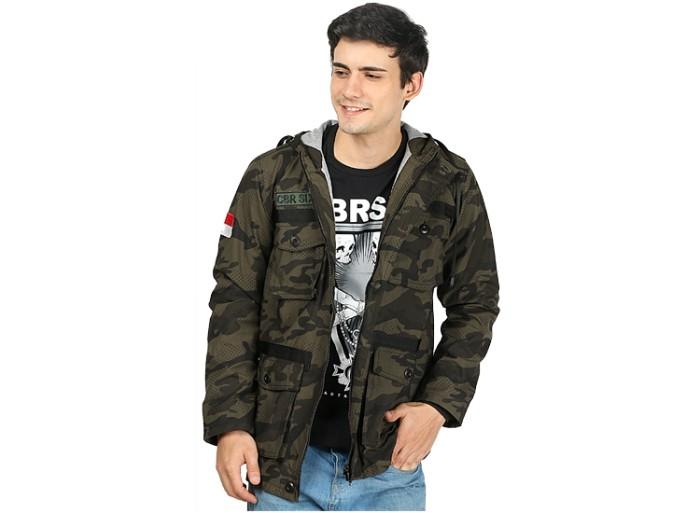 Jual jaket parka pria jaket gunung jaket army kanvas c6 original ... 32fef63948
