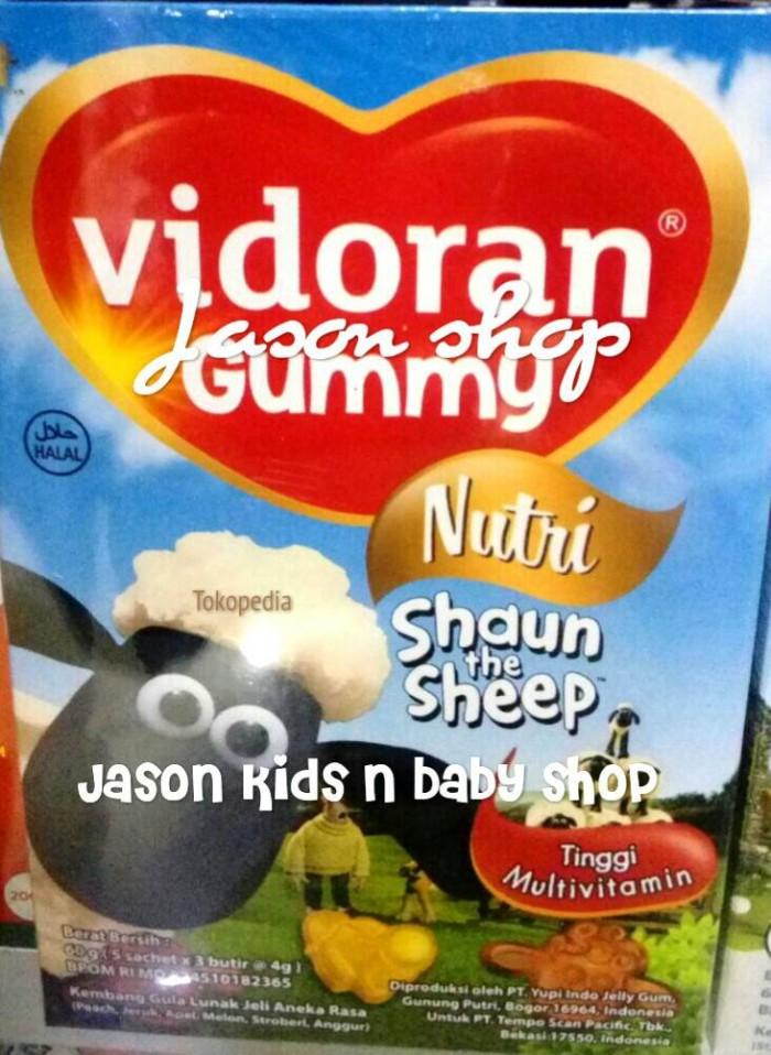 Vitamin Vidoran Gummy Nutri isi 60gram (10 sachet)