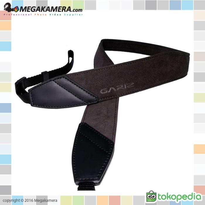 harga Gariz neck strap alcantara hitam coklat (at-dslcg) Tokopedia.com