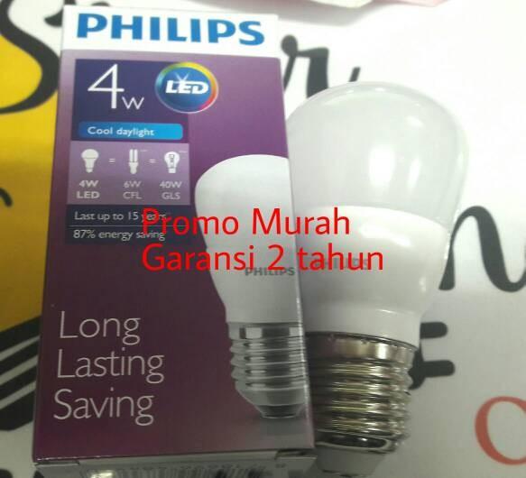 ... Philips led bulb 4w Putih. Philips led bulb 4w Putih. Philips Lampu Led 18w 2000 Lumen Cool Daylight Putih Terang ...