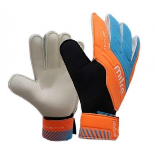 harga Sarung tangan kiper mitre magnetite orange l biru Tokopedia.com