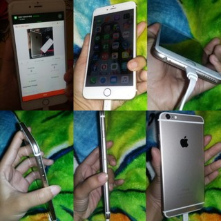 iphone 6 plus 64 gb second bekas 6+ .