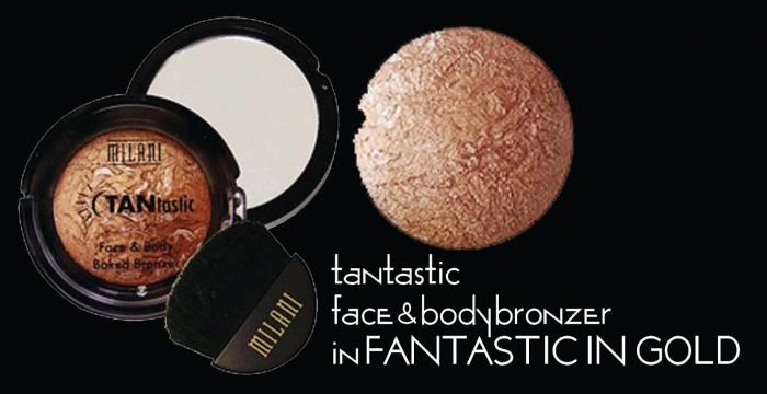 Milani - tantastic bronzer 01 fantastic in gold