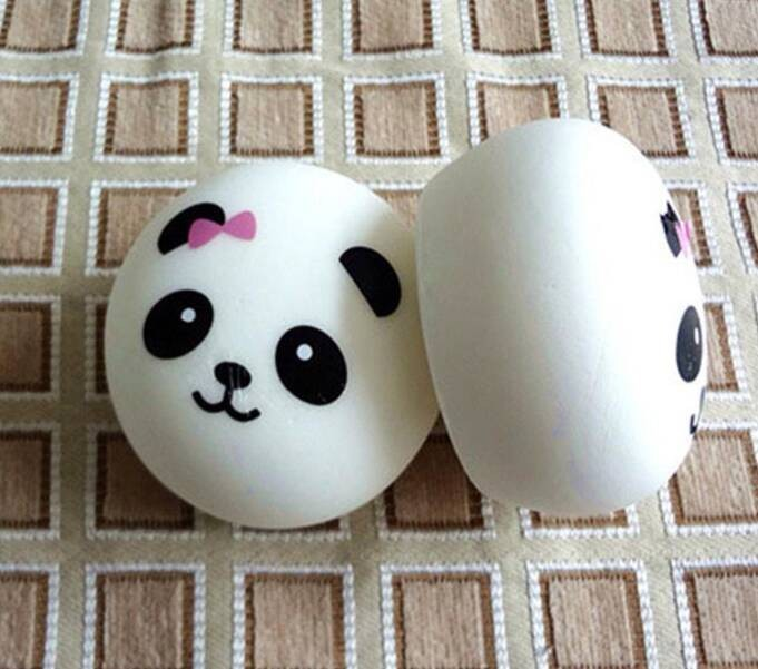 ... Squishy Soft And Slow Panda Bun Jumbo Gantungan Kunci Panda