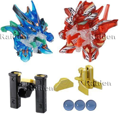harga Cross fight b-daman cb23 super custom set power rapid fire Tokopedia.com