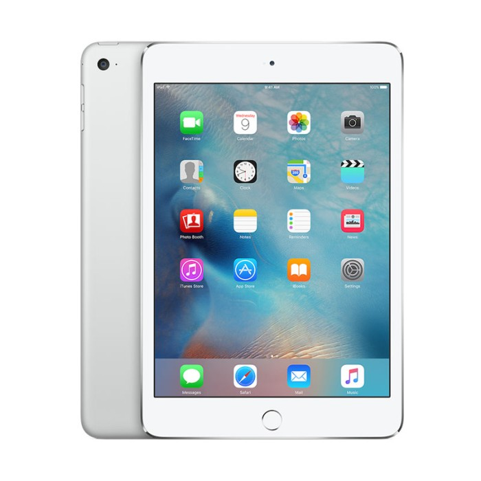 harga Apple ipad mini 4 - 128gb - silver - wifi cellular Tokopedia.com