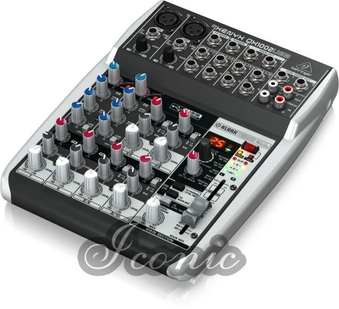 harga Murah!  mixer behringer xenyx qx 1002 usb  (10 channel) Tokopedia.com