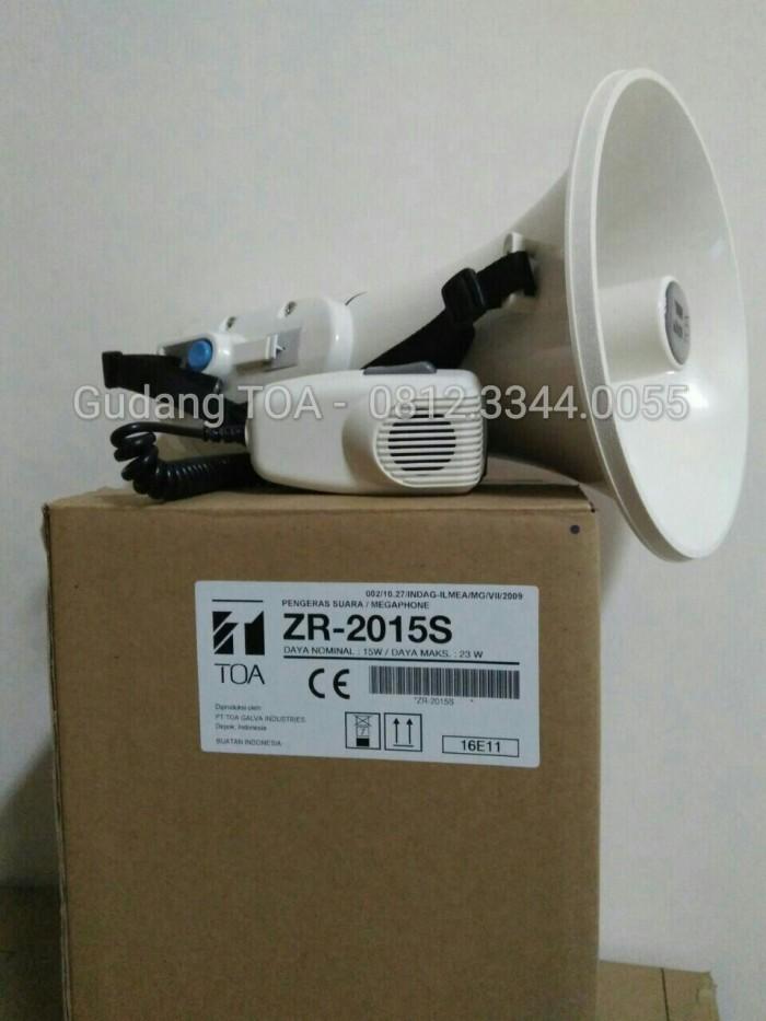 harga Toa megaphone  zr-2015s ( sirine ) Tokopedia.com