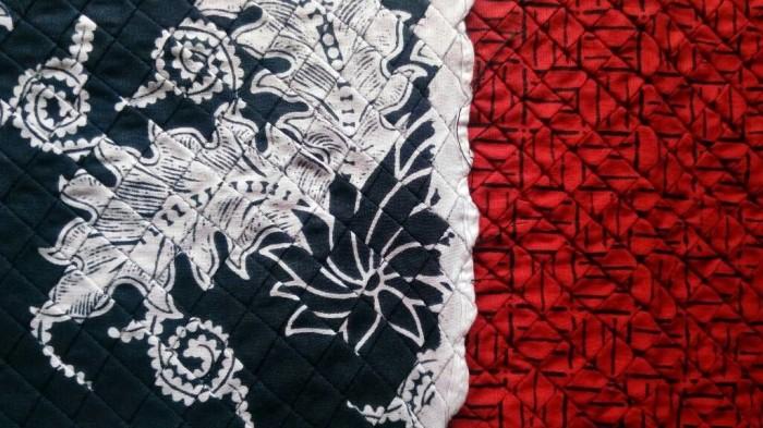 Jual Jasa Pintuck Cross Opnesel silang Kain Batik  Butik Negeri