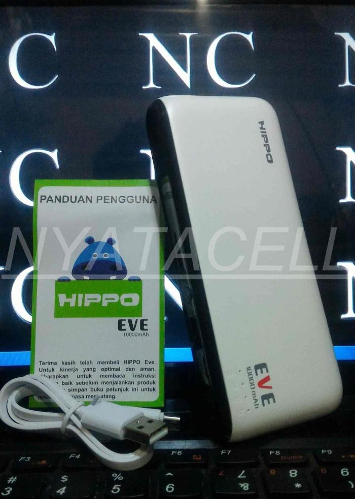 Powerbank Hippo Eve 10000mAh Simpe Pack /Power Bank Original 10000 mAh