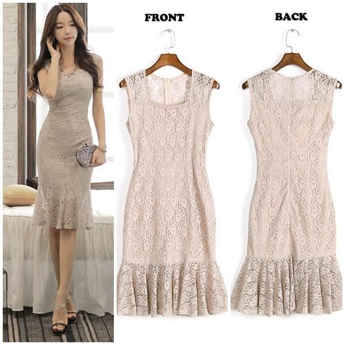 Jual Dress Simple Elegan Dki Jakarta Nilin Shop Tokopedia