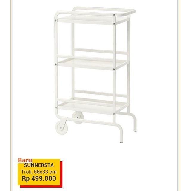 Troli Dapur Murah Sunnersta Ikea