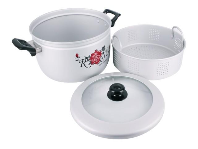 Panci kukus nasi / steamer rice cooker maspion 26 cm