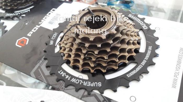 harga Freewhell / gir 7 speed shimano tz31 megarange 14-34t Tokopedia.com