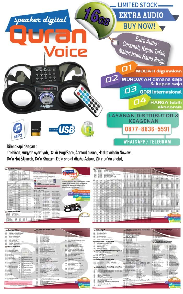 Jual Speaker Al Qur'an / Digital Speaker / Quran Voice v5 2 - Kota Bekasi -  Kartu Animasi 4 Dimensi | Tokopedia