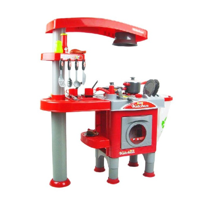 Jual Tomindo Kitchen Jumbo Red Set Mainan Anak Jack Team Store