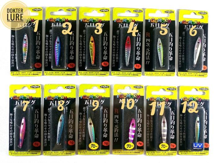 harga Lure storm gomoku micro 4cm/5gr (casting,rapala,daiwa,shimano,mancing) Tokopedia.com