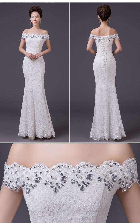 Jual Gaun Pesta Import Gaun Malam Party Dress Gaun Pengantin 1609014