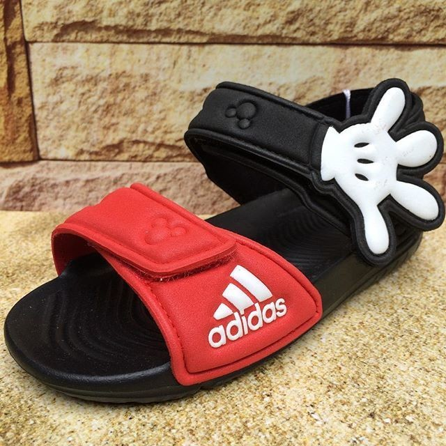 sale retailer 98816 99196 adidas mickey mouse sandals