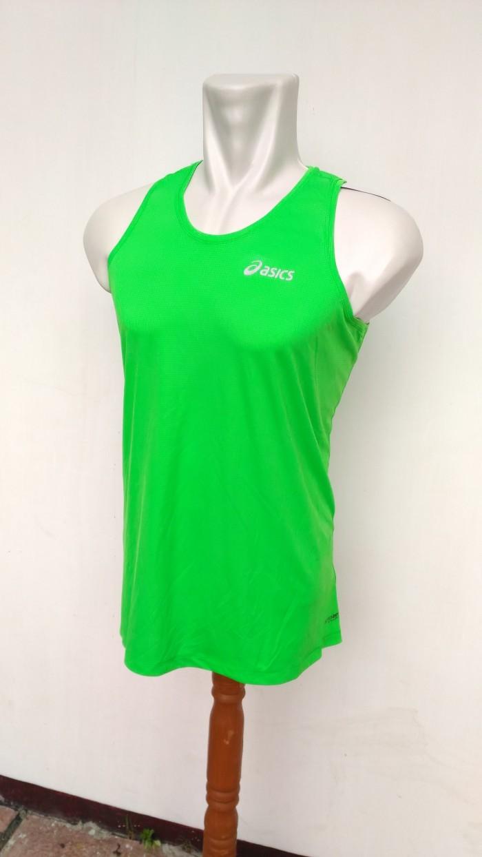 harga Kaos singlet asics motiondry/ olahraga/ fitness/ training/ pria cowok Tokopedia.com