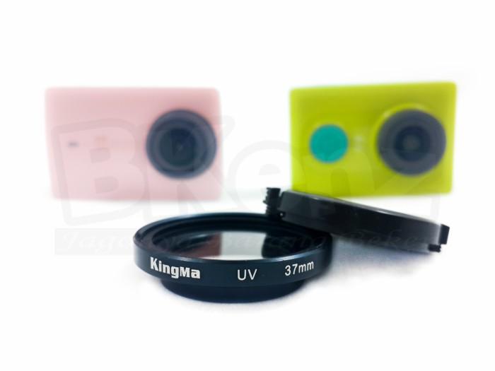 harga Kingma uv filter 37mm with lens cap for xiaomi yi Tokopedia.com